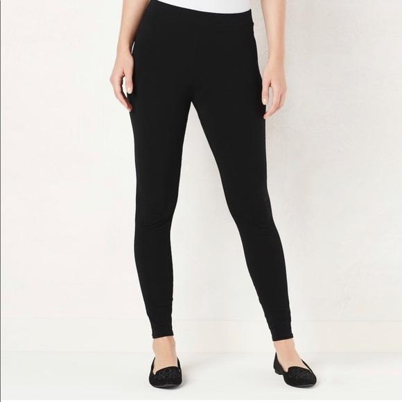 LC Lauren Conrad Pants - LC Lauren Conrad Mid Rise Leggings NWT